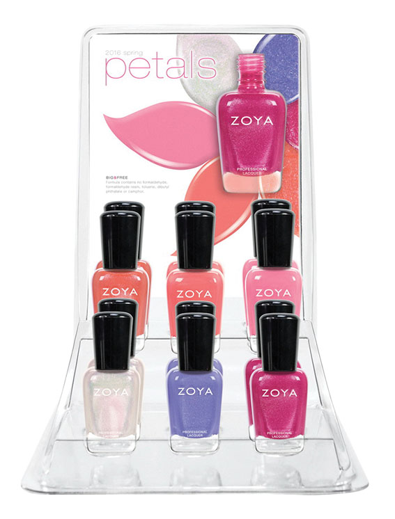 Zoya Petals Nail Collection Spring 2016